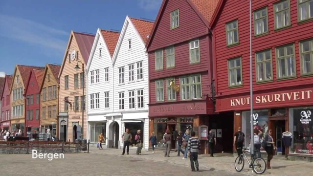 The Ancient Hanseatic City of Bergen – Cunard's travel film