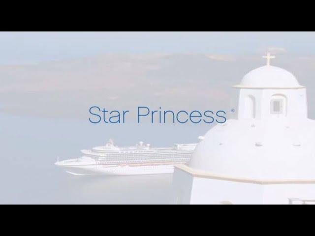 Star Princess, a smaller Grand Class Ship (Azura etc) -2,600 guests