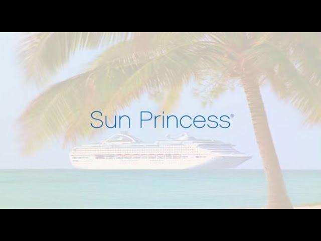 Sun Princess sister to the Oceana.