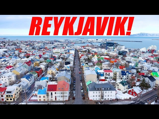 Reykjavik, Iceland – a walking tour; Cathedral to City to Blue Lagoon (Bathers needed)