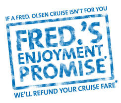 Money back if you don't like the cruise – the offer appears again