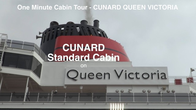 Queen Victoria. Standard Stateroom Tour – filmed in a minute