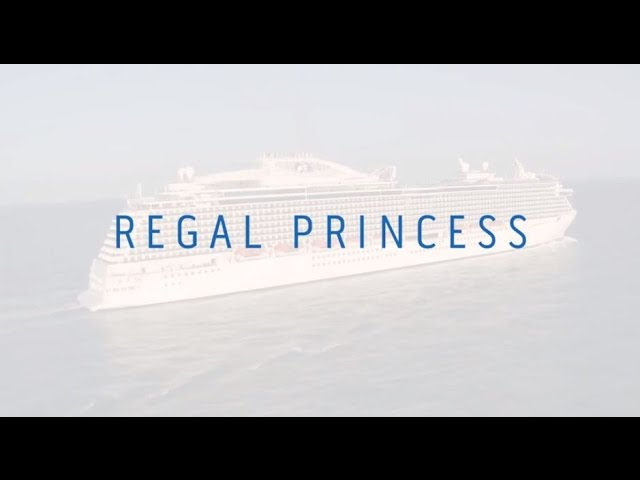 Regal Princess – the setting of the first series of THE CRUISE (sister to Britannia)