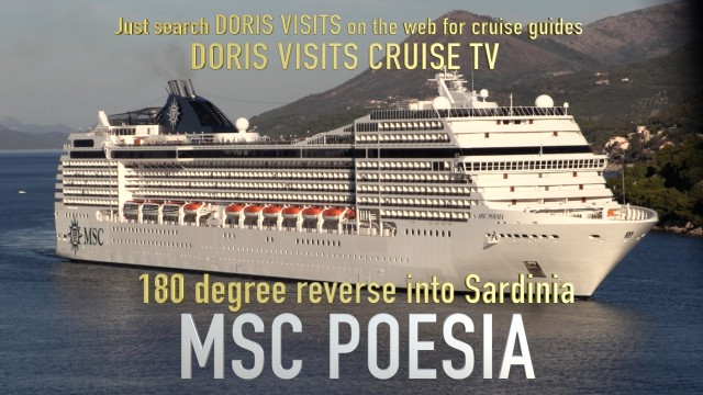 MSC POESIA is a family ship for 3,223 guest that loves the Med.