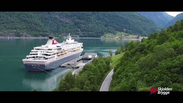 Skjolden Drone – filmed from above it looks fantastic