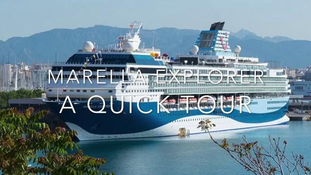 Marella Explorer Quick Tour We Mean Quick Doris Visits