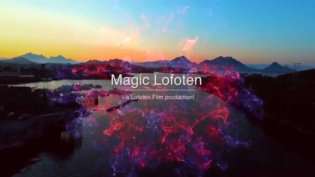 Lofoten Islands in all their beauty – over view by low DRONE