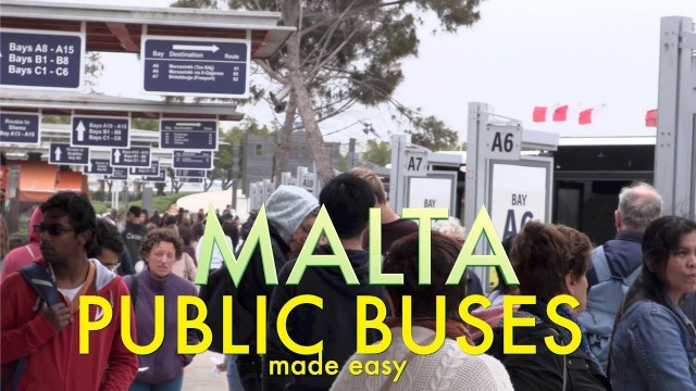Easy and cheap, panoramic Malta by public bus