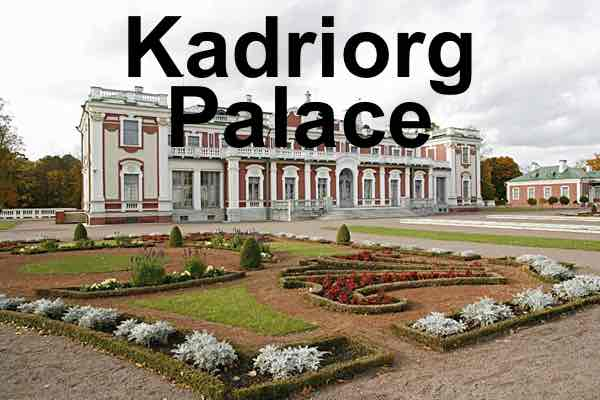 Kadriorg Palace and Museum, Tallinn, Estonia