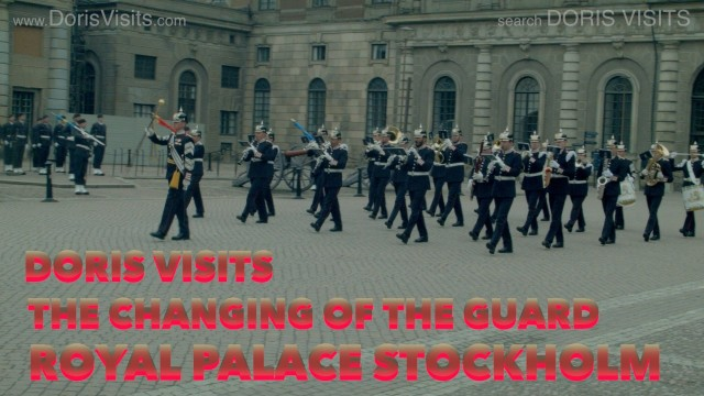 Stockholm Palace, Changing of the Guard