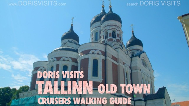 TALLINN – walk the old town, and views from St Olafs