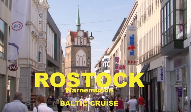 Rostock port – Warnemunde's other port – see Jean's great film for Doris Visits