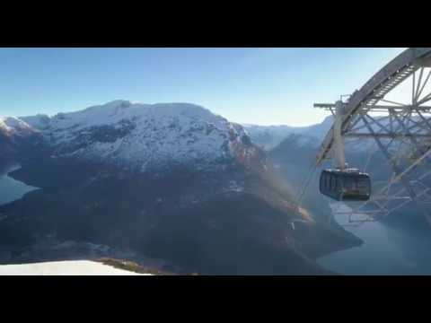 Olden excursion – Loen Skylift in the Nordfjord