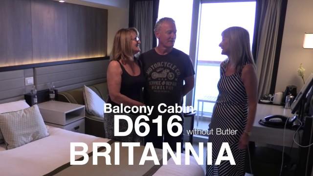 P&O Britannia Cabin Tour – D616