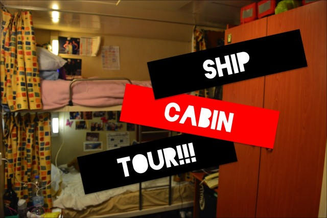 Crew Cabin – so, is it luxury or just like a student room