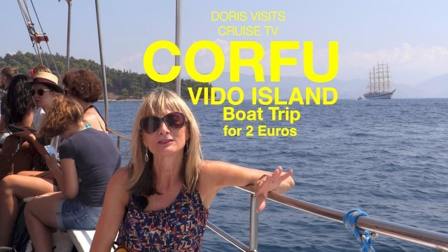 CORFU – Vido Island cheapest boat trip around
