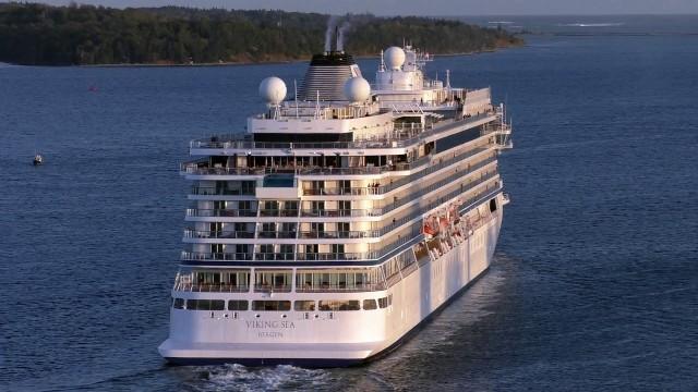 VIKING SEA – exterior shots of the ship