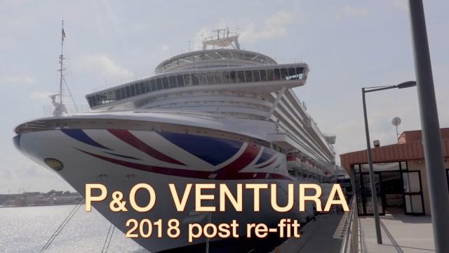 P&O VENTURA post 2018 refit