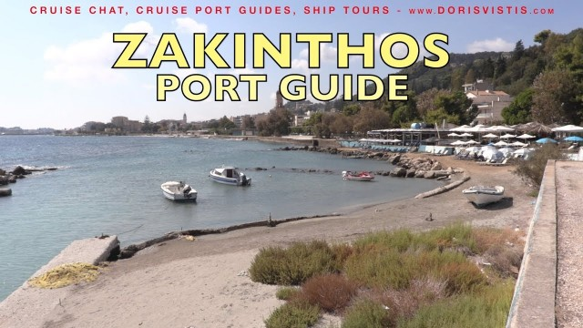 Zakynthos town guide, an easy Greek port to stroll and see