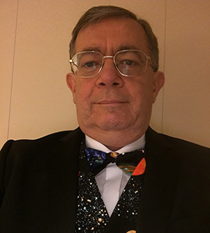 Paul Fellows – a fellow of the Astronomical Society – top guest on board