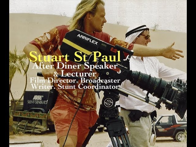 Stuart St Paul – Cruise Crime Novelist with 50 years in the movie industry