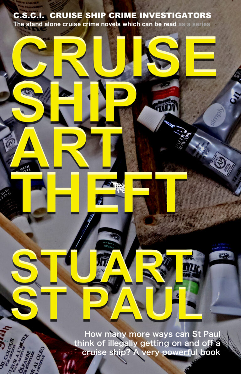 CRUISE NOVEL – CRUISE SHIP ART THEFT