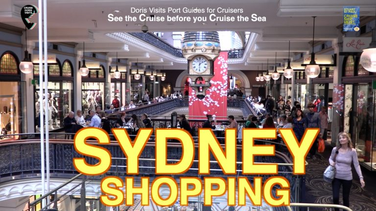 Sydney Cruise in and Shop. The world's greatest shopping centre.