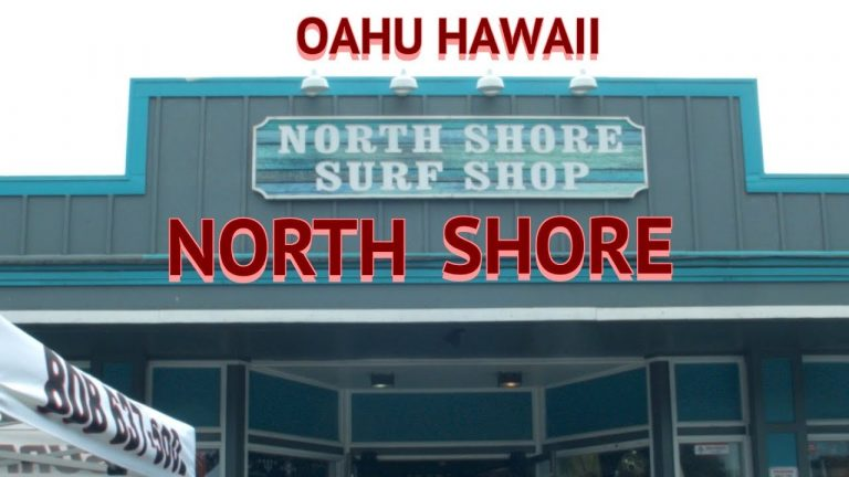 Oahu, Hawaii. North Shore by public bus to see a more natural Hawaii