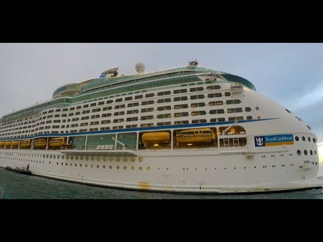 Voyager of the Seas ship tour by Port Monkeys for Doris Visits